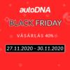 Black Friday 2020 - 40% kedvezmény kód